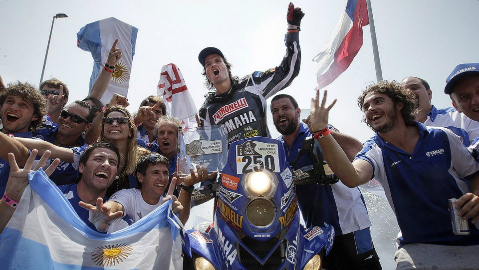 Marcos Patronelli Campeón Dakar 2013