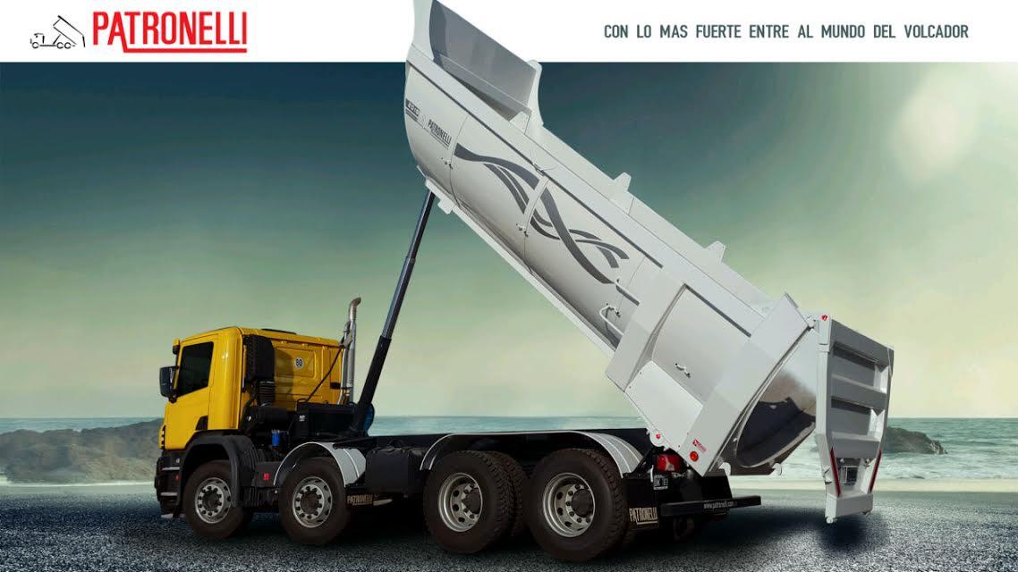 Telescopica para camiones 8x4 20m3